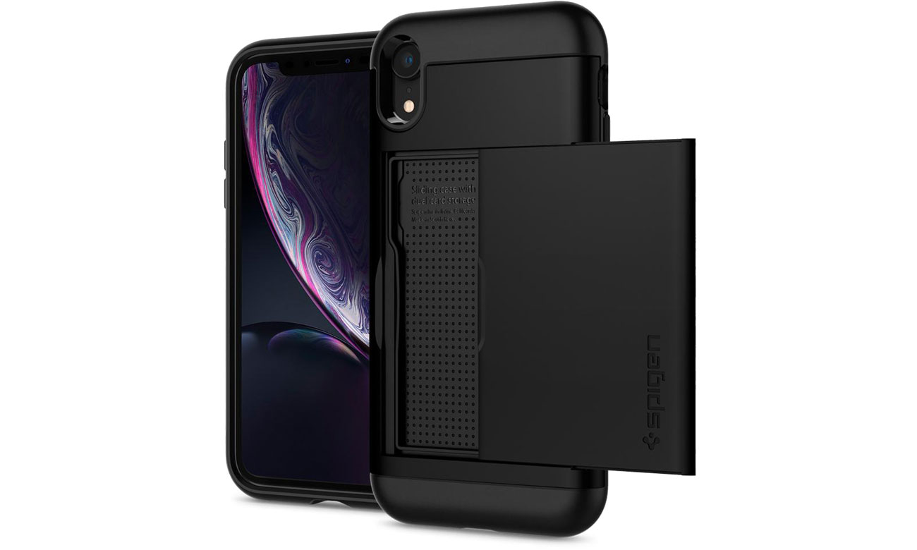 Spigen Slim Armor CS do iPhone XR Black 064CS24882 / 8809613764031