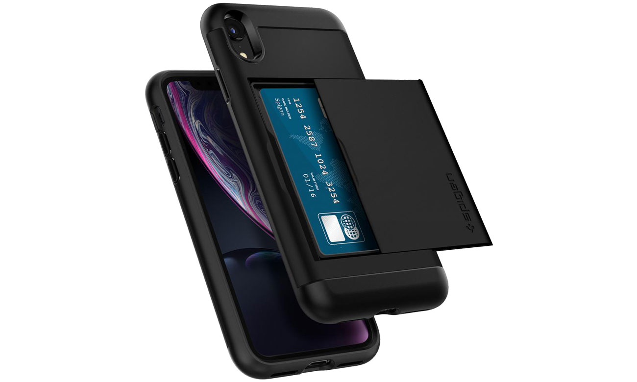 Spigen Slim Armor CS do iPhone XR Black