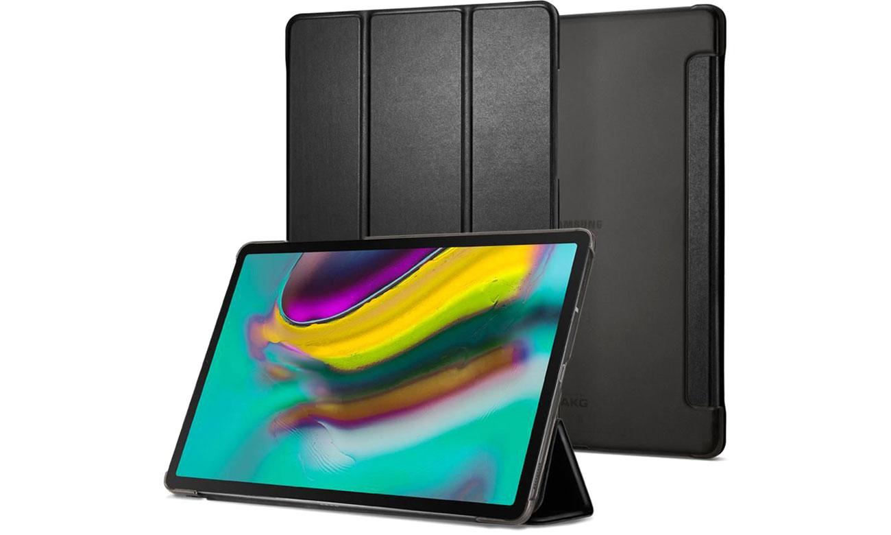 Etui na tablet Spigen Smart Fold do Galaxy Tab S5e czarny 613CS26148