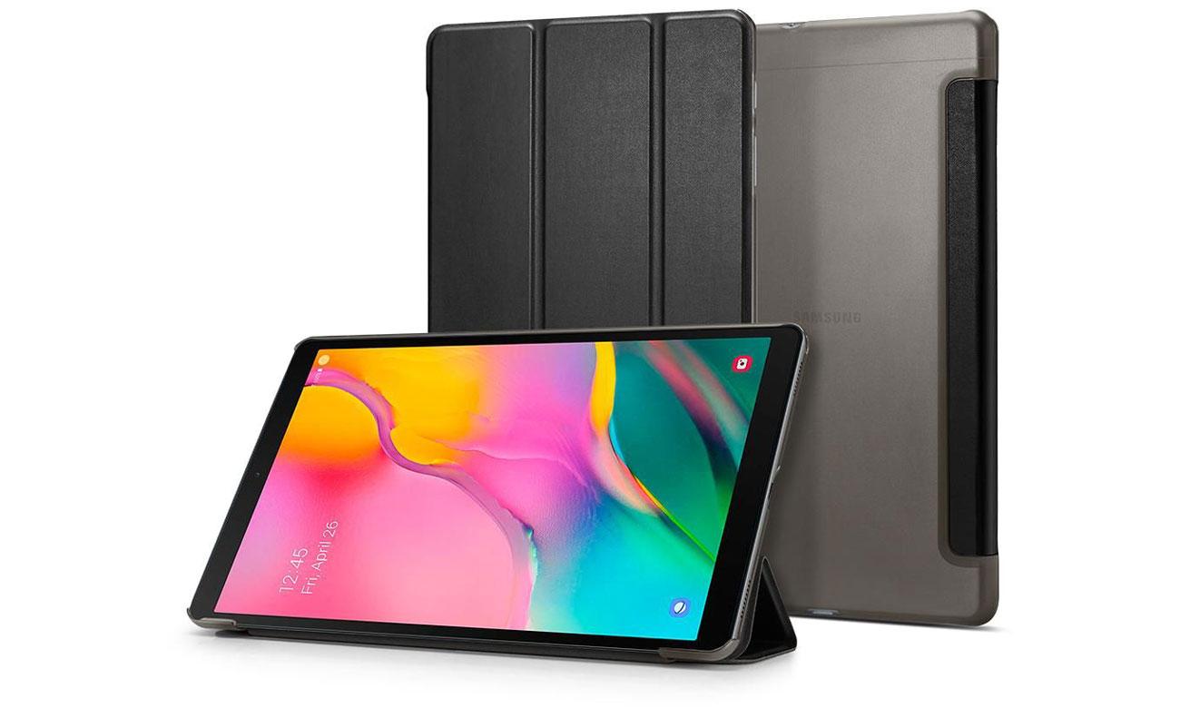 Etui na tablet Spigen Smart Fold do Galaxy Tab A 2019 T510/T515 czarny 623CS26447