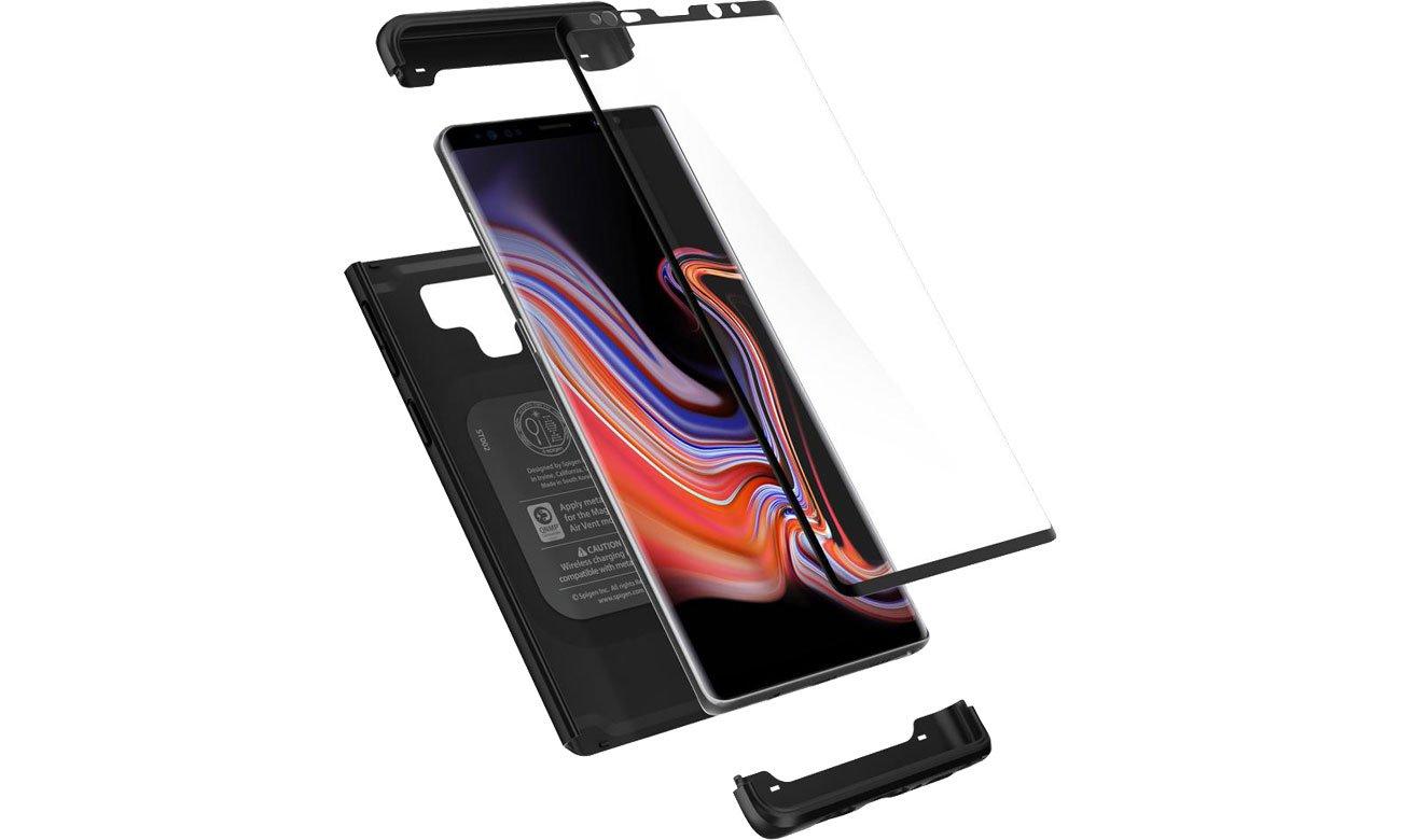 Spigen Thin Fit 360 do Samsung Galaxy Note 9 Black 599CS24581