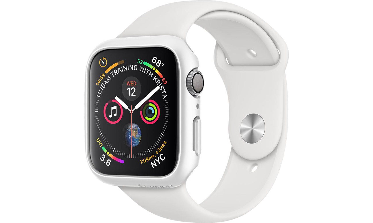 Obudowa Thin Fit Apple Watch 4/5 40 mm White