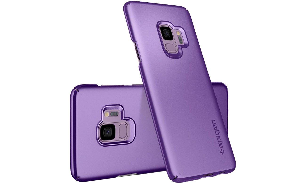 Etui Spigen Thin Fit do Samsung Galaxy S9 Lilac Purple