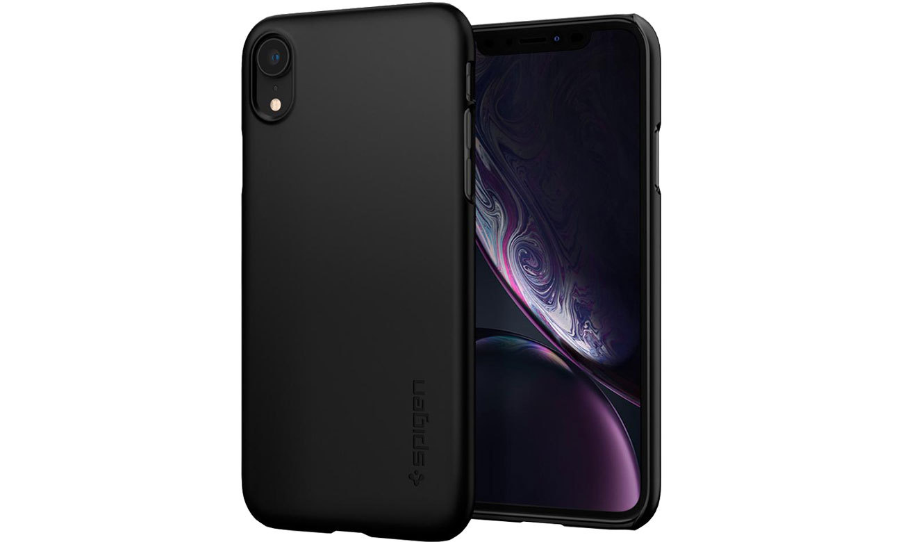 Spigen Thin Fit do iPhone XR Black 064CS24864