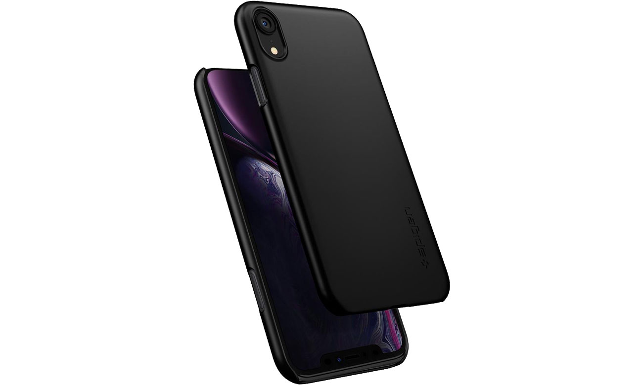 Spigen Thin Fit do iPhone XR Black 8809613763850