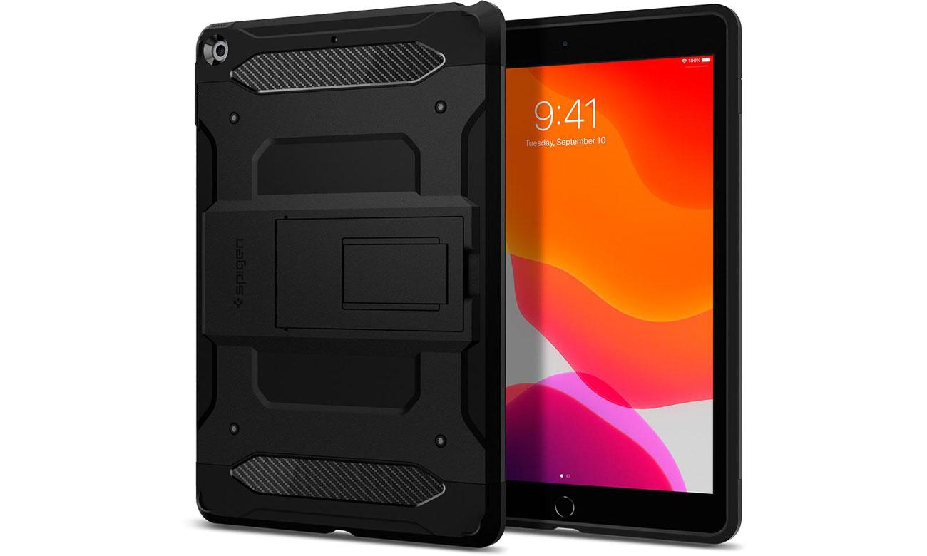 Etui na tablet Spigen Tough Armor do iPad 7 generacji czarny ACS00377