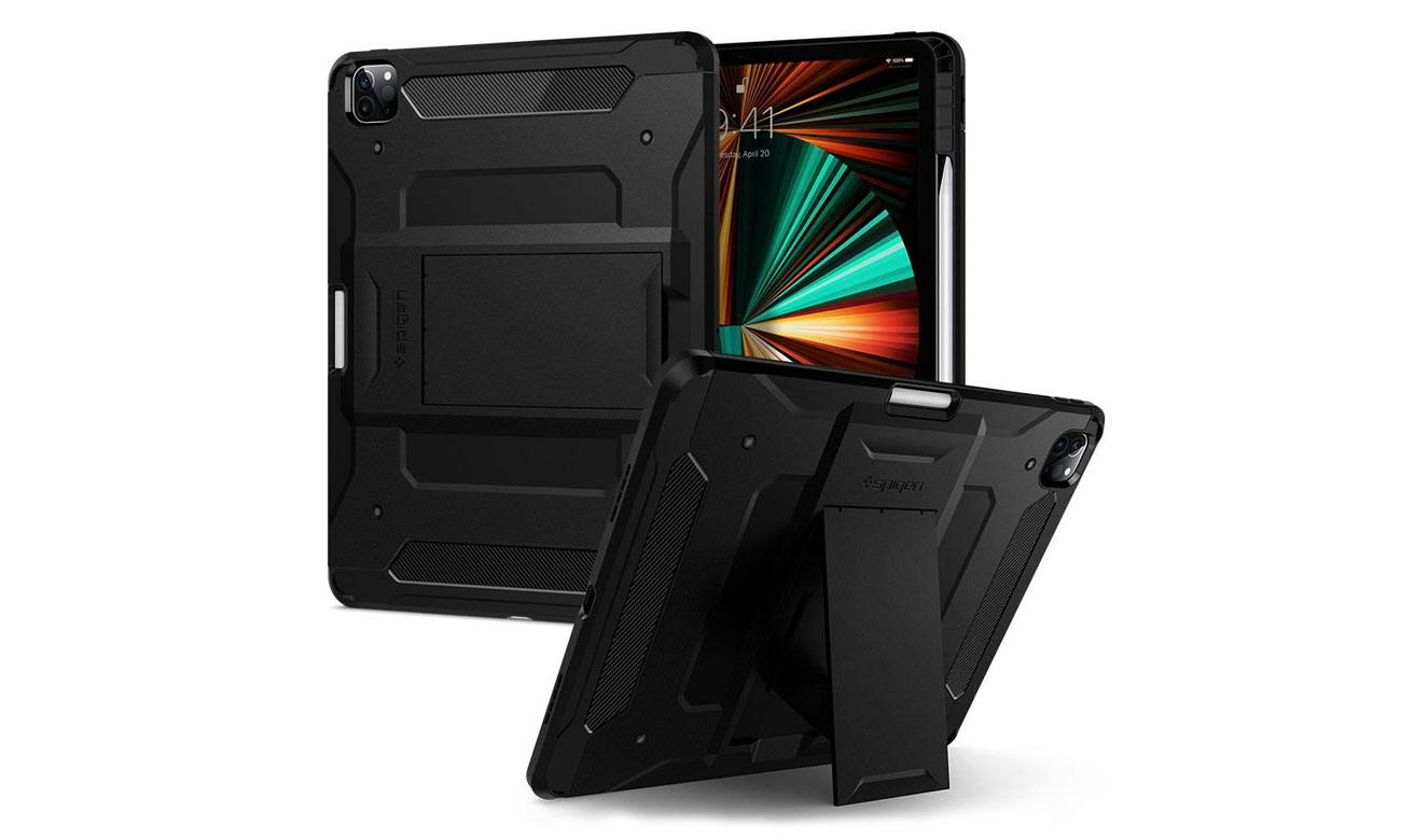 Etui Spigen Tough Armor do iPad Pro 12.9 5. generacji czarne