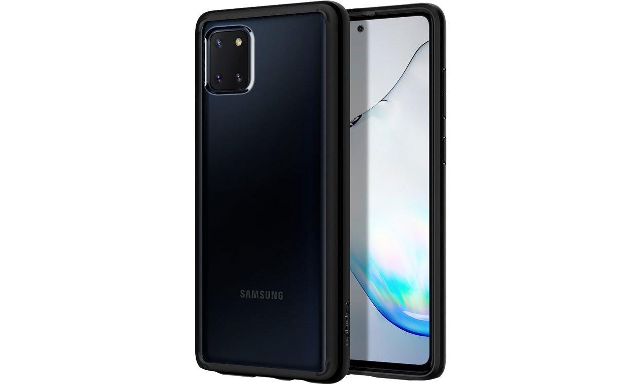 Etui Spigen Ultra Hybrid do Samsung Galaxy Note 10 Lite Black ACS00685