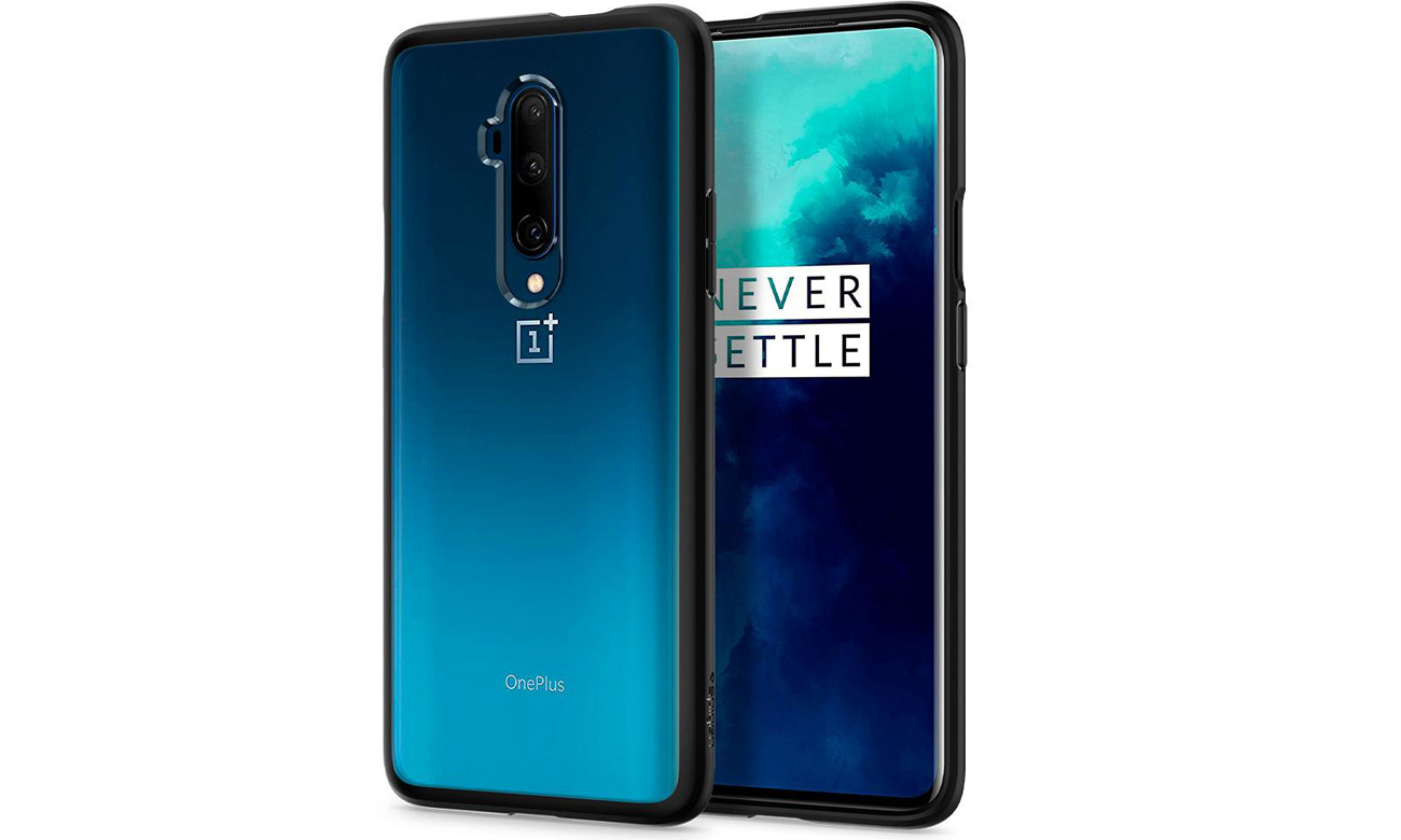 Etui Spigen Ultra Hybrid Black do OnePlus 7T Pro