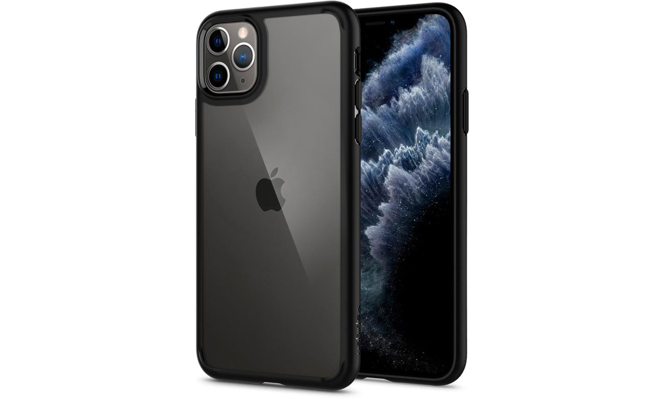 Etui na smartfona Spigen Ultra Hybrid do iPhone 11 Pro Black