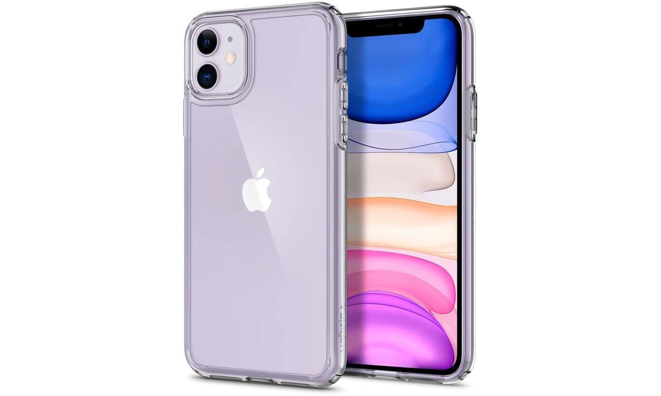 Etui na smartfona Spigen Ultra Hybrid do iPhone 11 Crystal Clear