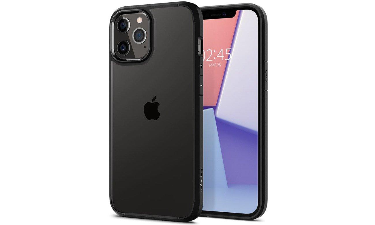 Spigen Ultra Hybrid Black do iPhone 12 / 12 Pro
