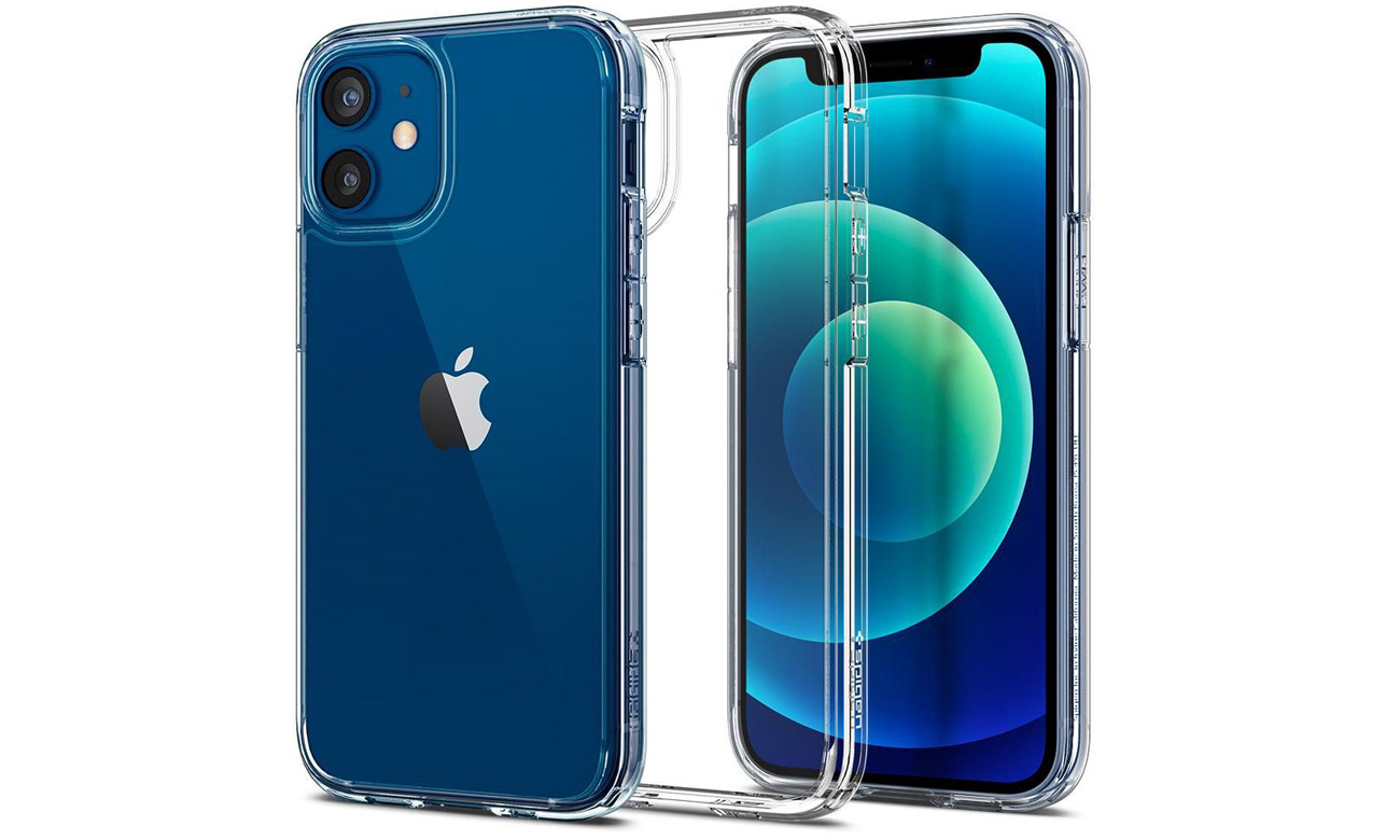 Spigen Ultra Hybrid Crystal Clear do iPhone 12 Mini