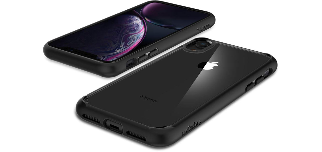 Spigen Ultra Hybrid do iPhone XR upadki