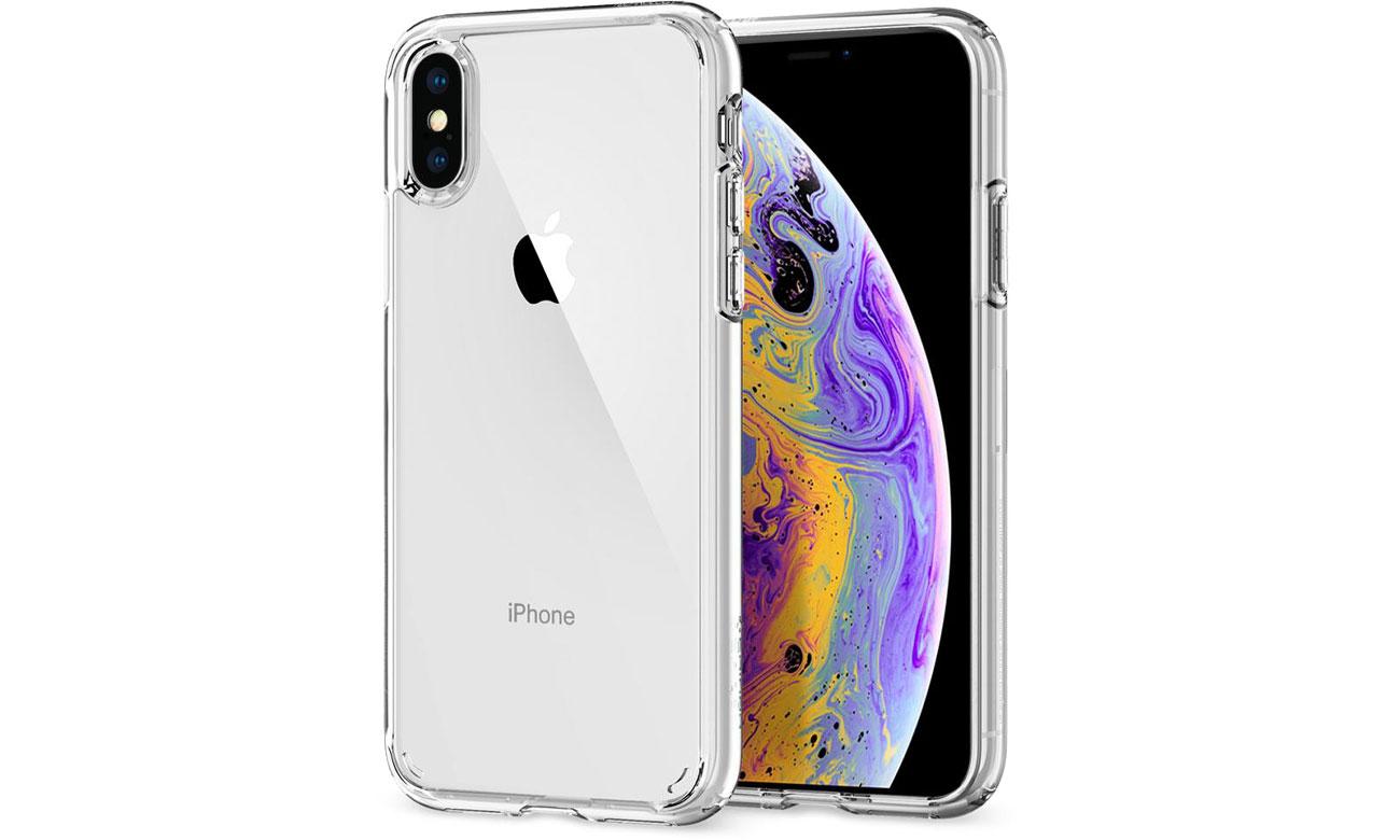 Spigen Ultra Hybrid do iPhone XS Crystal Clear 063CS25115