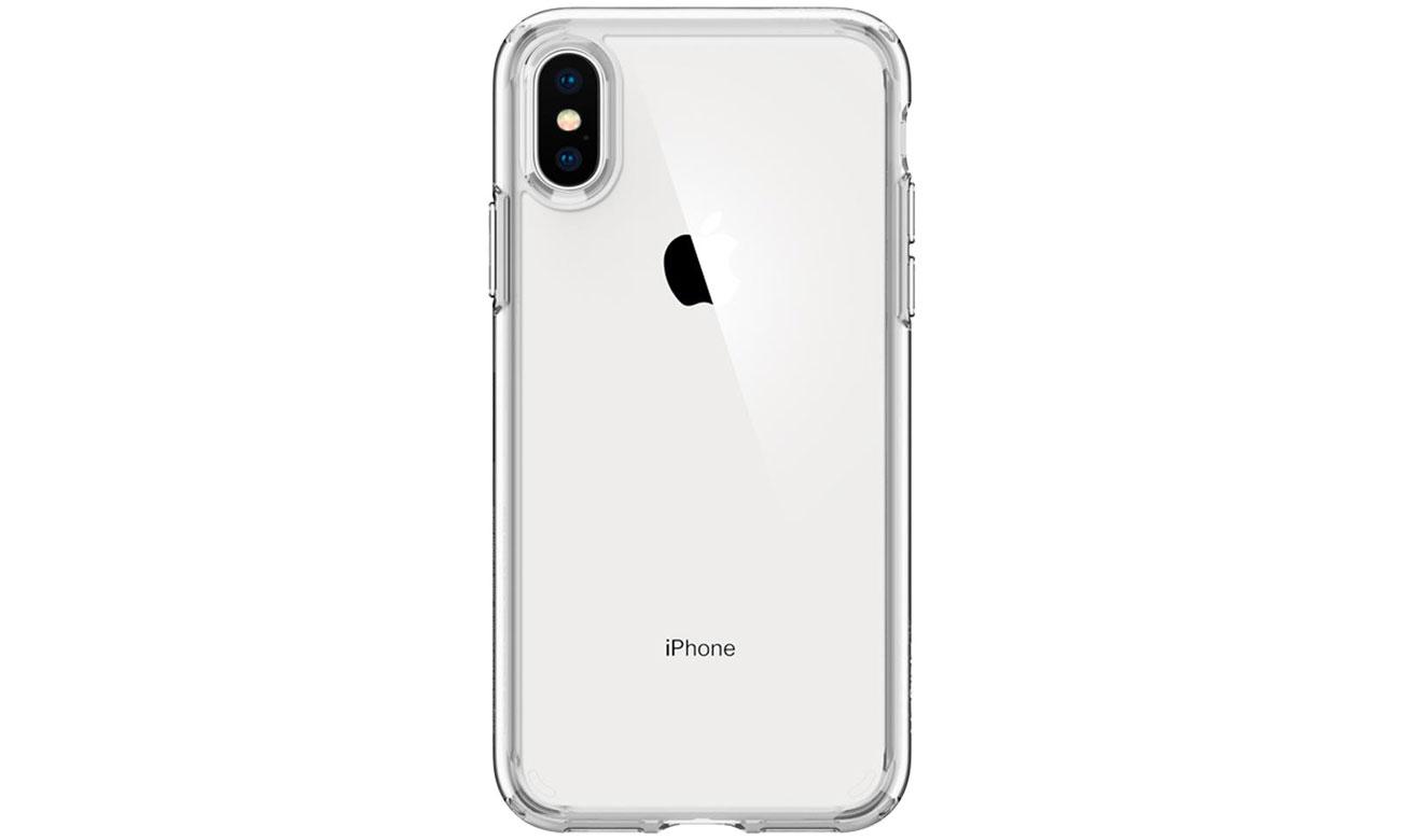 Spigen Ultra Hybrid do iPhone XS chwyt