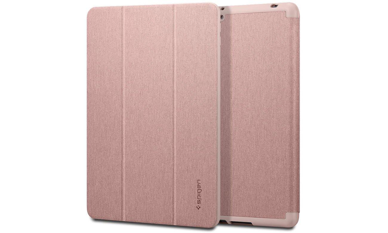 Etui na tablet Spigen Urban Fit do iPad 7 generacji różowo-złoty ACS01061