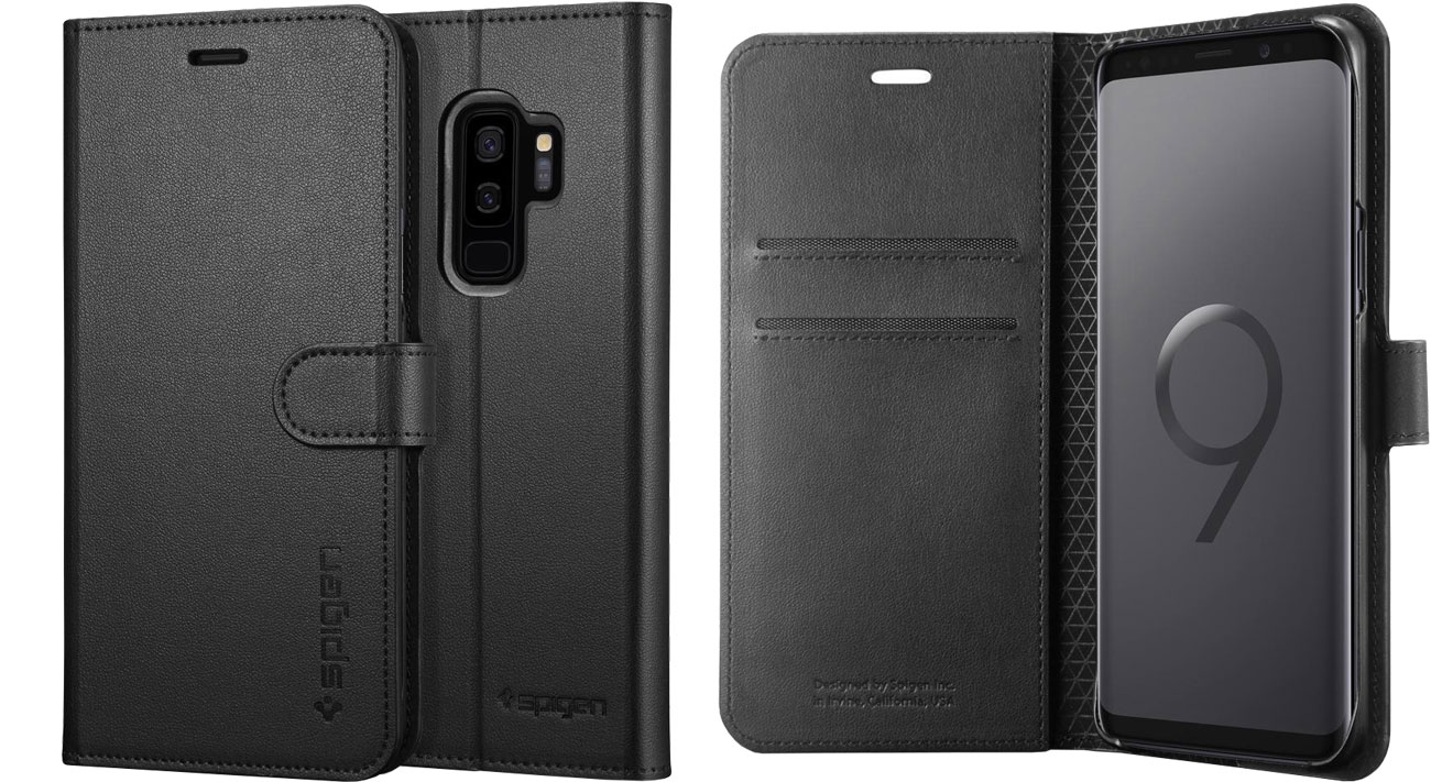 Etui Spigen Wallet S do Galaxy S9+ Black 593CS22957