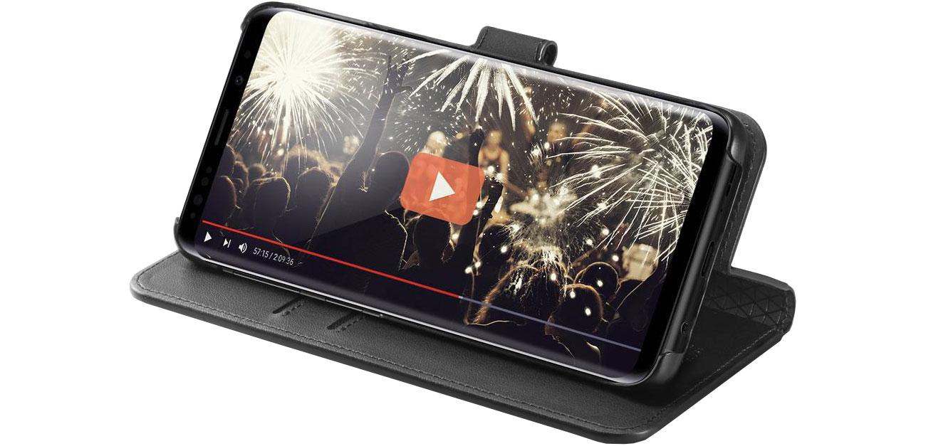Spigen Wallet S do Galaxy S9+ Black 8809565306402