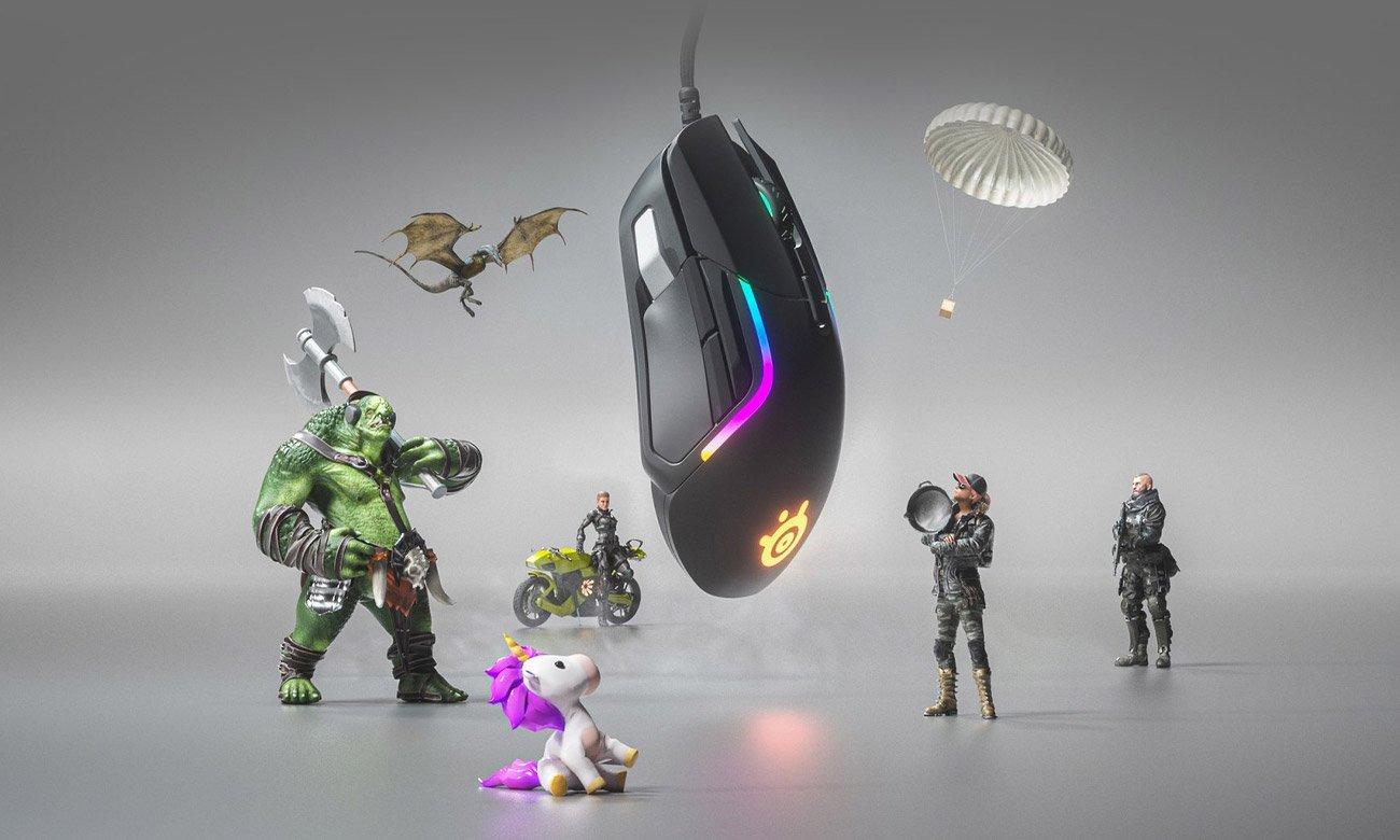 Mysz dla graczy SteelSeries Rival 5