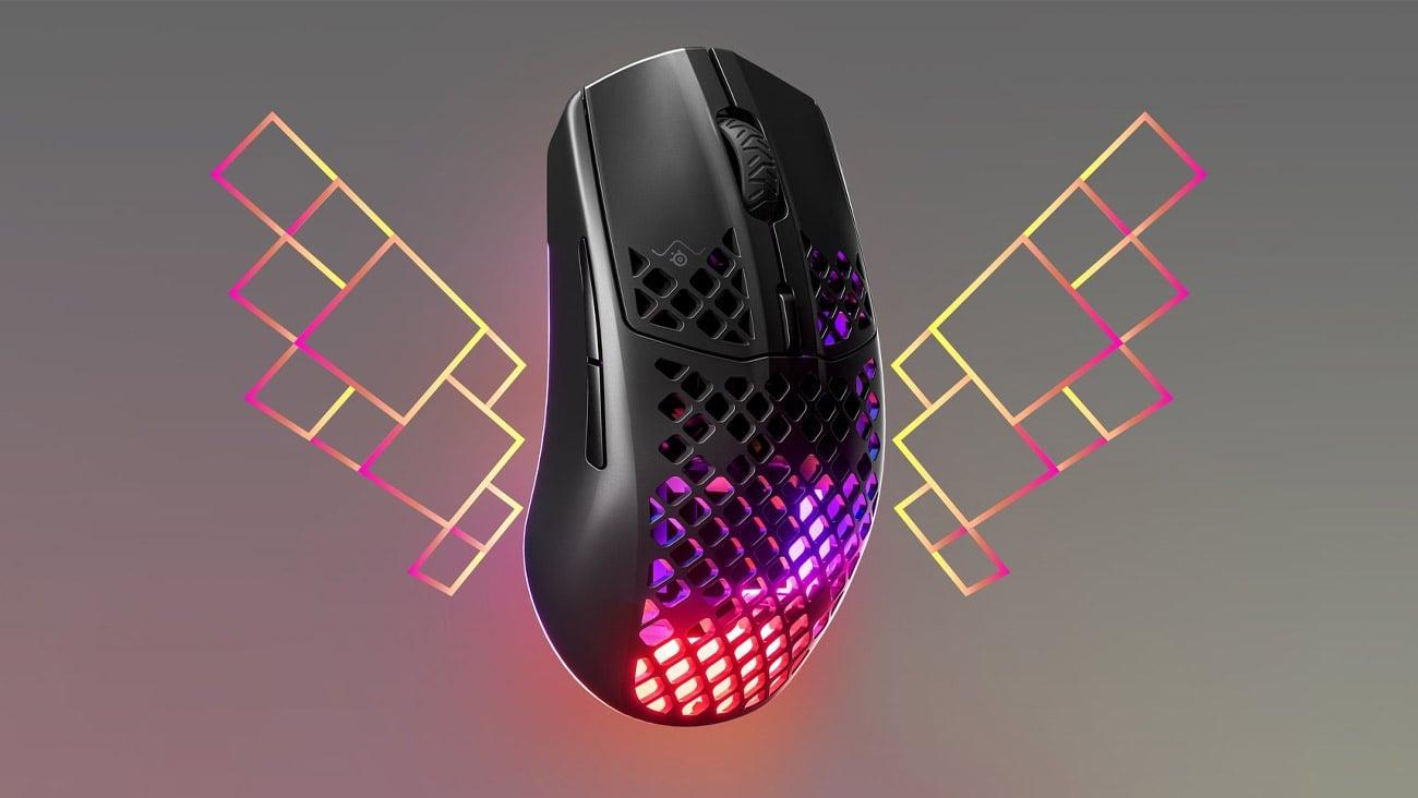 Mysz dla graczy SteelSeries Aerox 3 Wireless