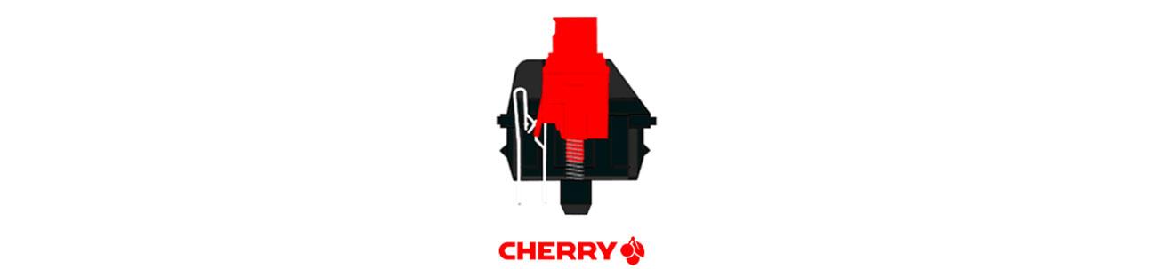 SteelSeries Apex M500 przełącznik cherry mx red