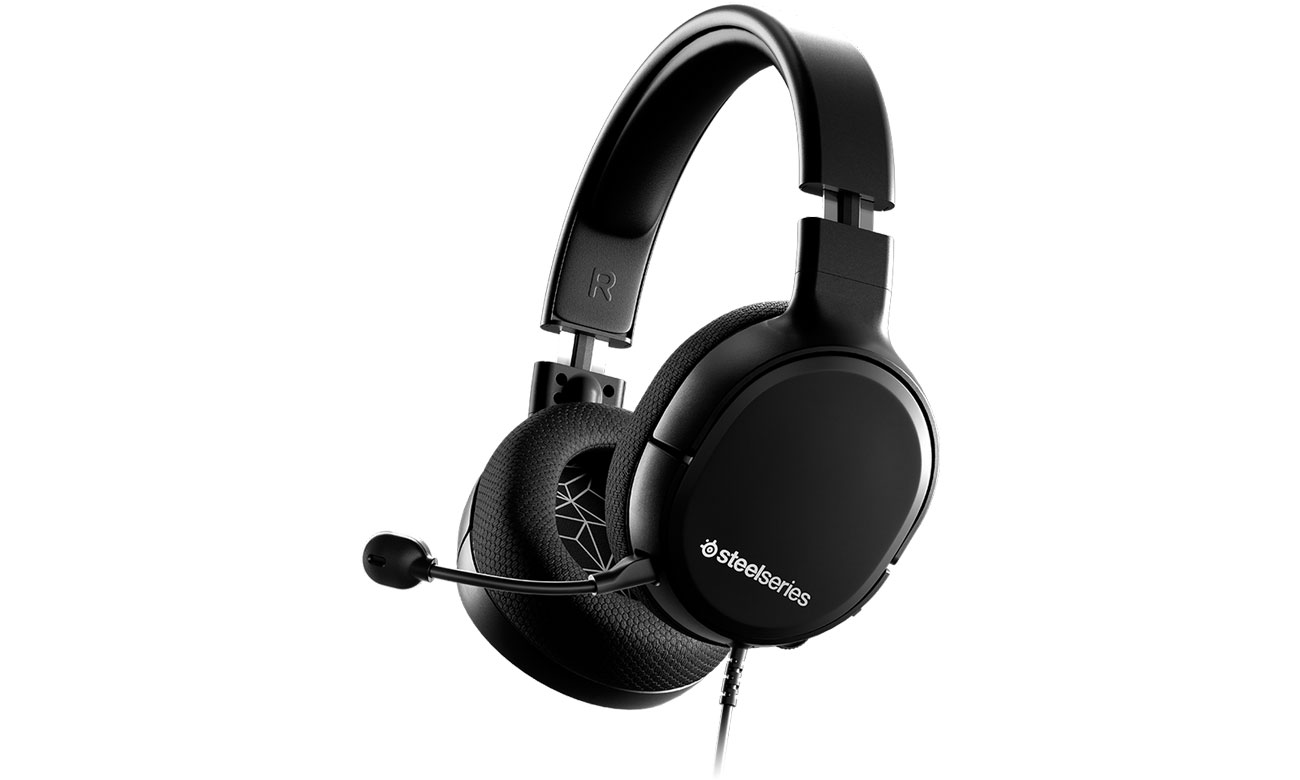 Słuchawki przewodowe SteelSeries Arctis 1 Czarne 61427