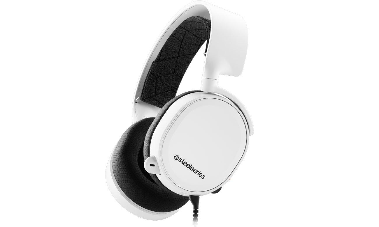 Słuchawki SteelSeries Arctis 3 2019 Edition białe
