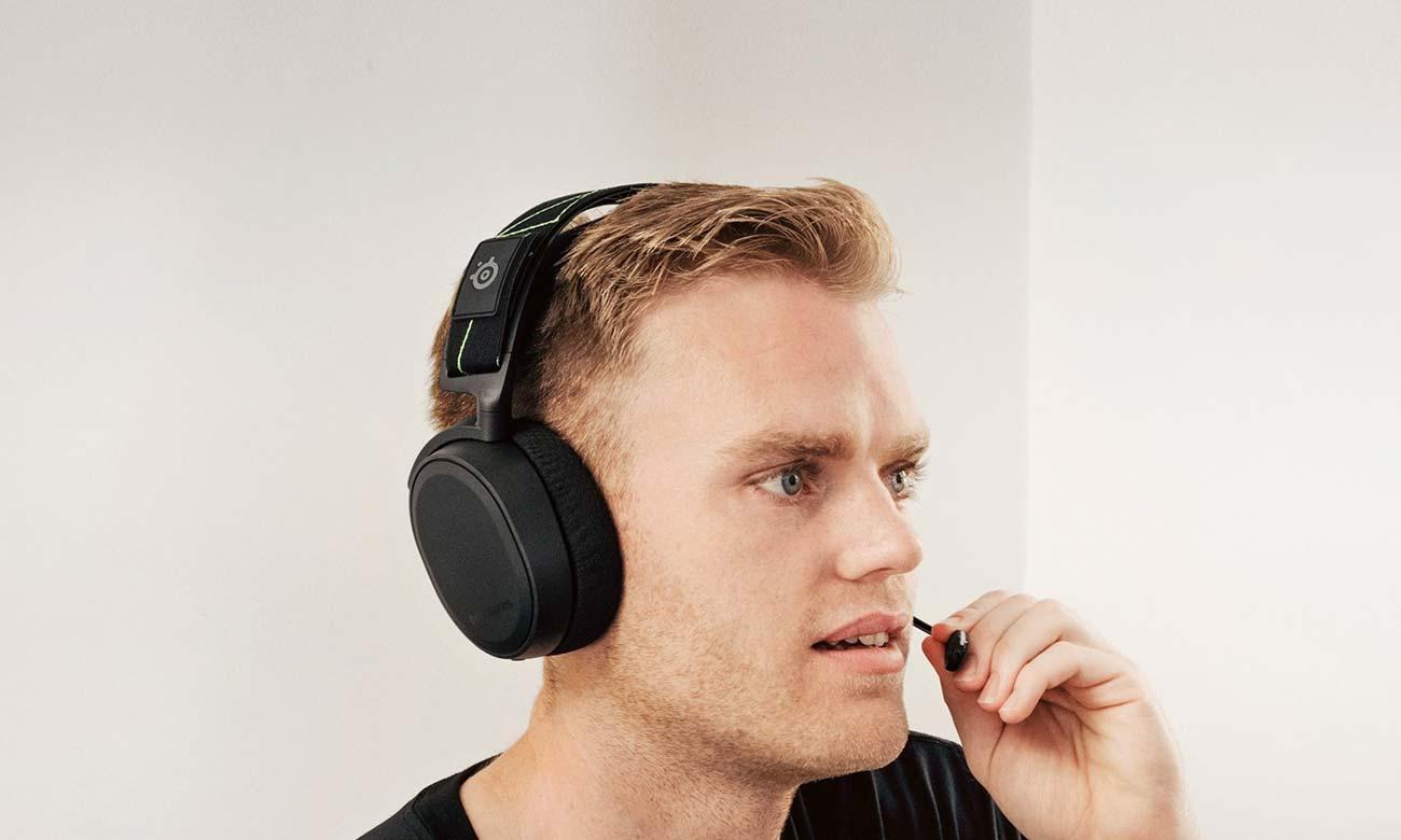 Słuchawki SteelSeries Arctis 7 Wbudowany mikrofon ClearCast