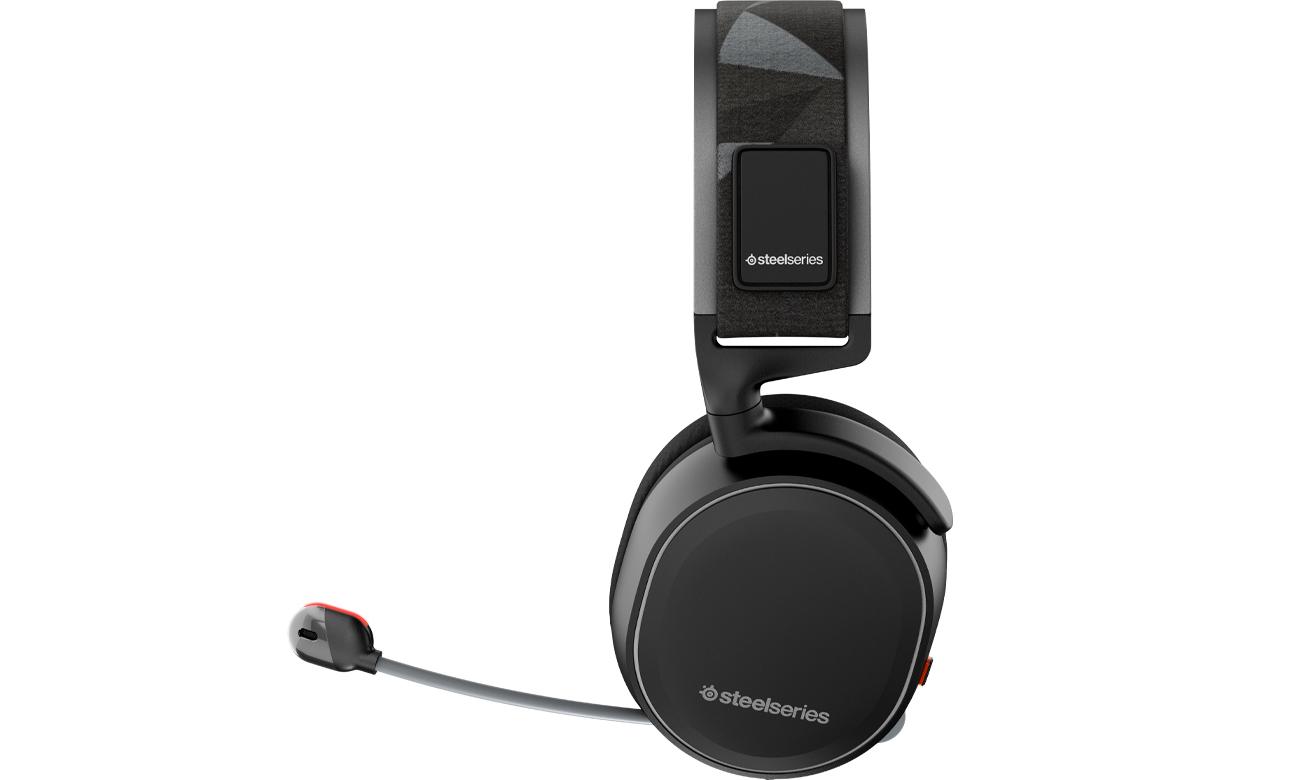 Słuchawki SteelSeries Arctis 7 Kompaktowy rozmiar