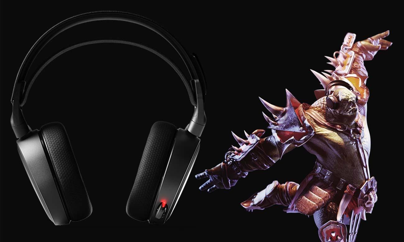 Słuchawki SteelSeries Arctis 7 Dźwięk przestrzenny 7.1
