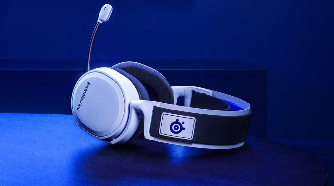 Zestaw słuchawkowy SteelSeries Actis 7P Biały dla PlayStation
