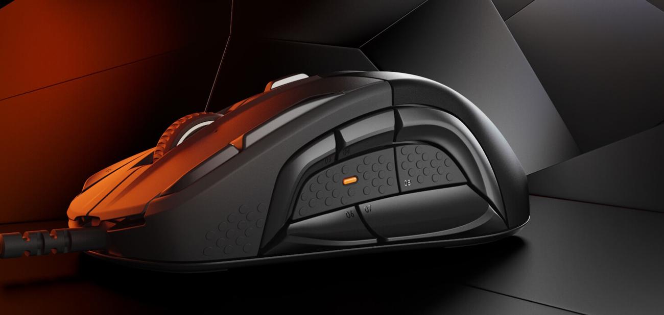 SteelSeries Rival 500 Boczny Układ