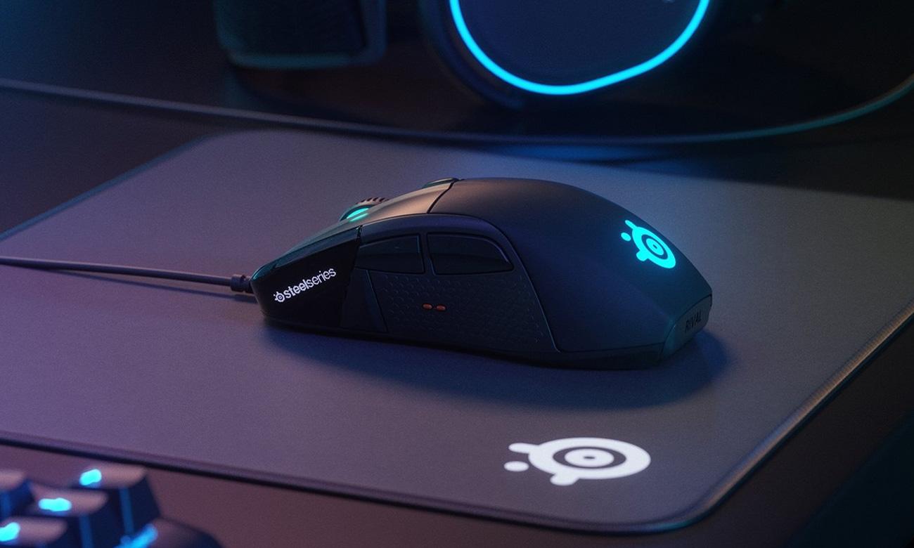 Die Maus mit OLED Anzeige Taktilfeedback und Sensor STEELSERIES Rival 710 Gaming