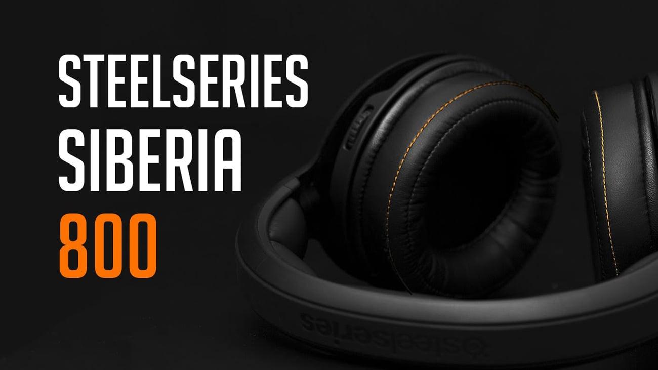 Słuchawki bezprzewodowe SteelSeries Siberia 800