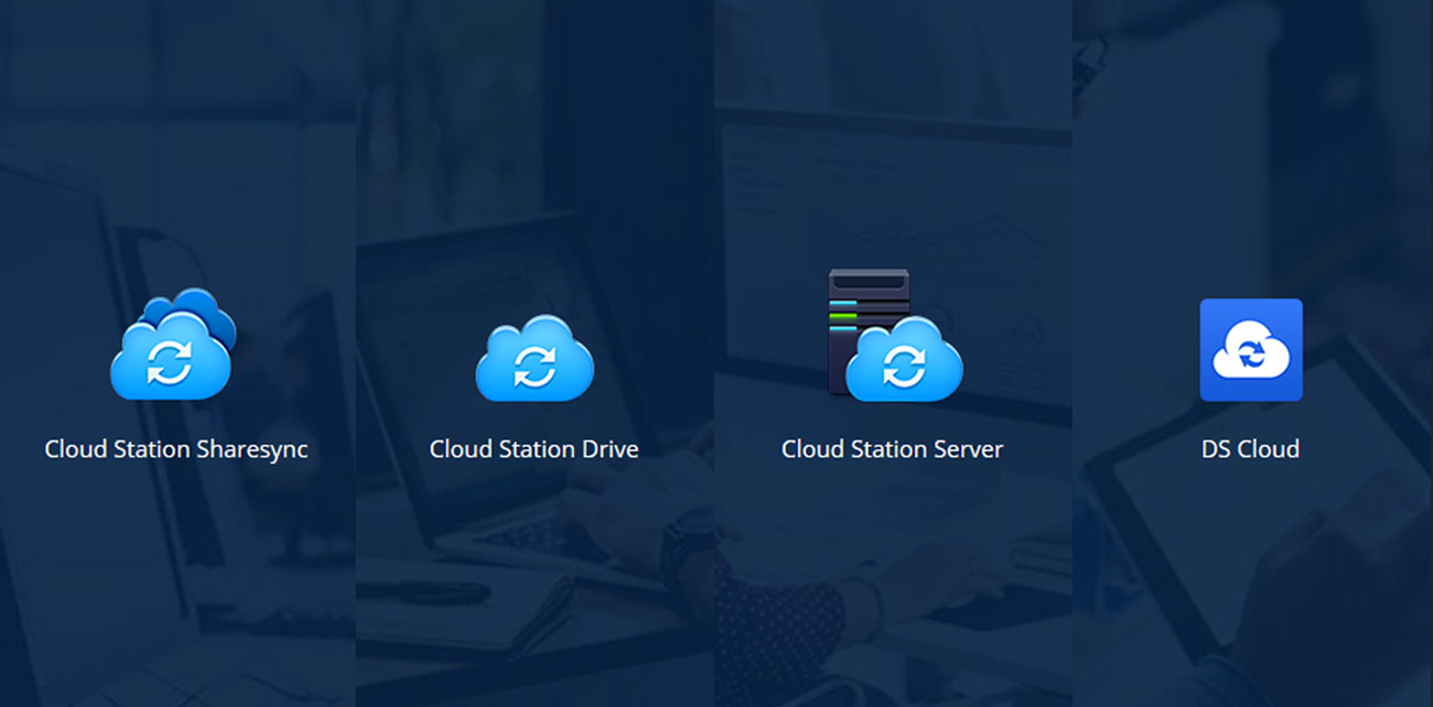 Synology DS218 Pakiet Cloud Station