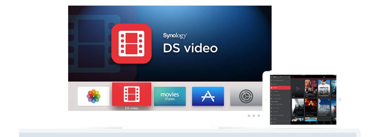 Synology DS218 Serwer multimediów 4K