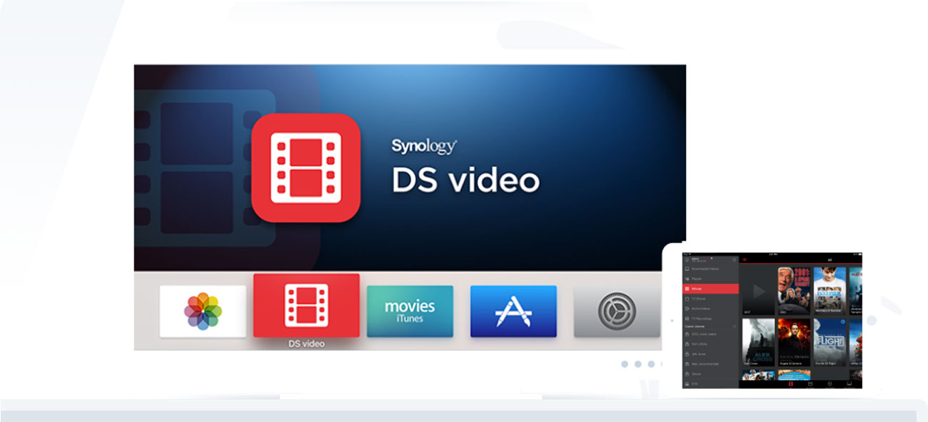 Synology DiskStation DS218play Obsługa 4K