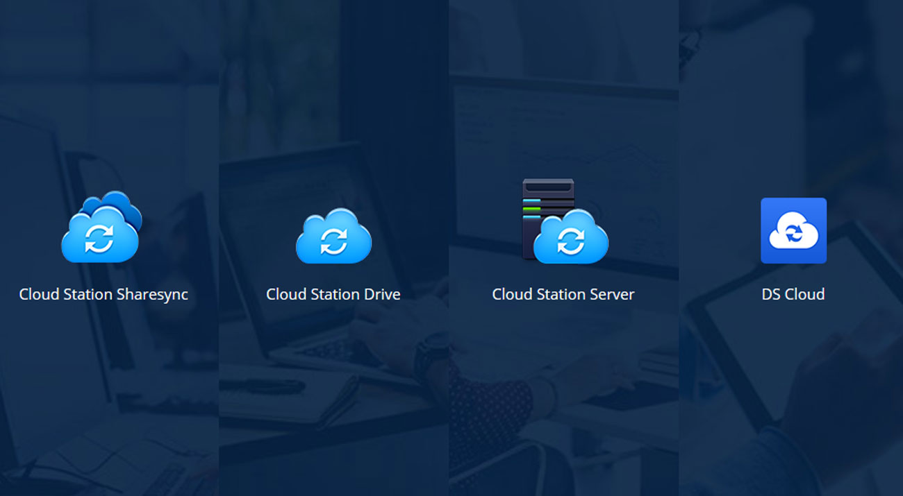 Synology DS718+ Pakiet Cloud Station