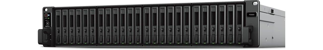 Dysk sieciowy NAS Synology FS3600 24xSSD, 12x2.1-2.7GHz, 16GB, 2xUSB, 6xLAN