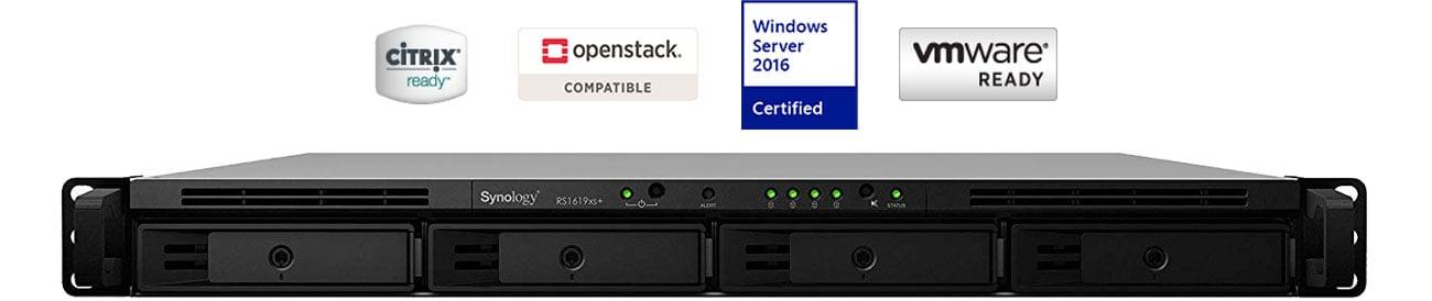 Synology RackStation RS1619xs+ Wirtualizacja