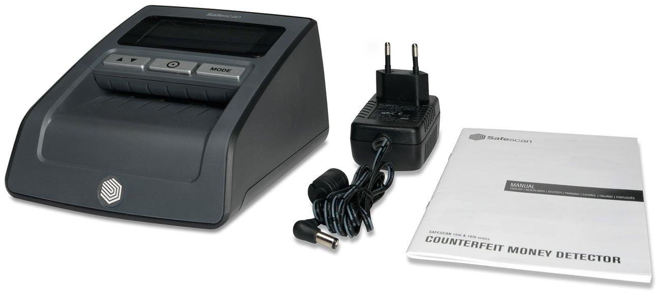Tester banknotów Safescan 155-S czarny