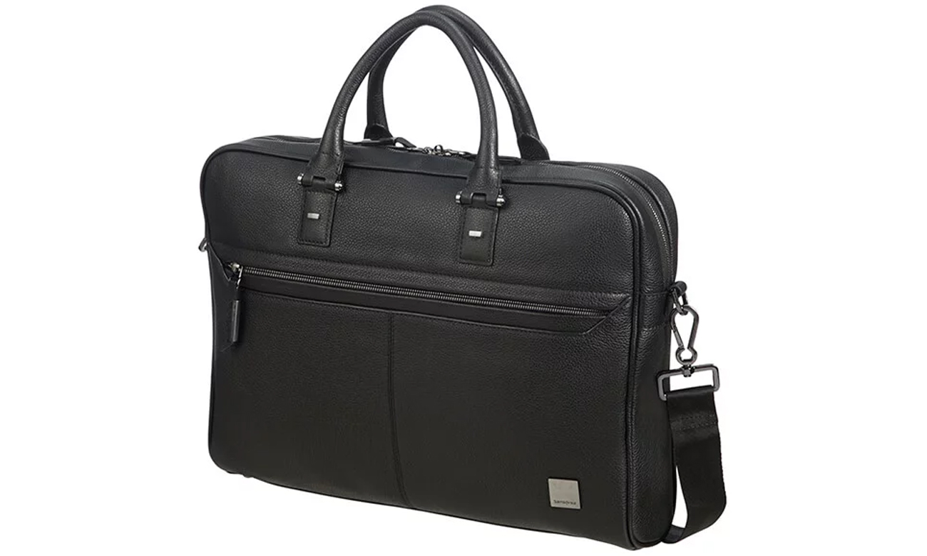 Samsonite Senzil 15,6'' Leather Black