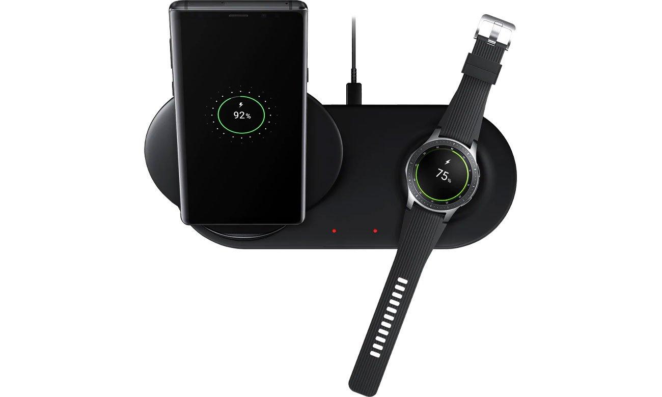 Samsung Wireless Charger Duo Ładowanie dwóch urządzeń jednocześnie