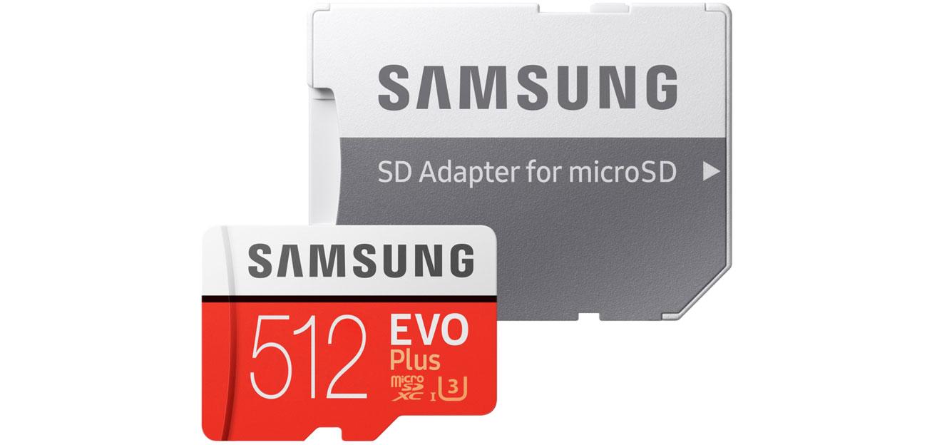 Karta pamięci microSD Samsung 512GB microSDXC Evo Plus