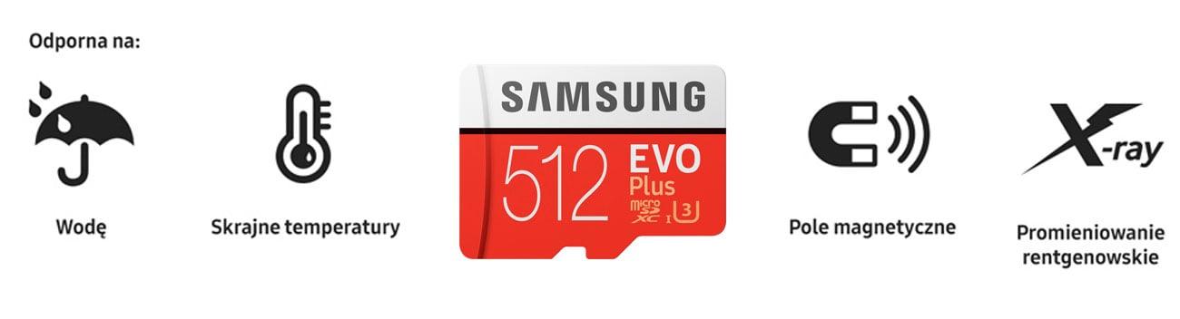 Samsung Evo Plus Odporność
