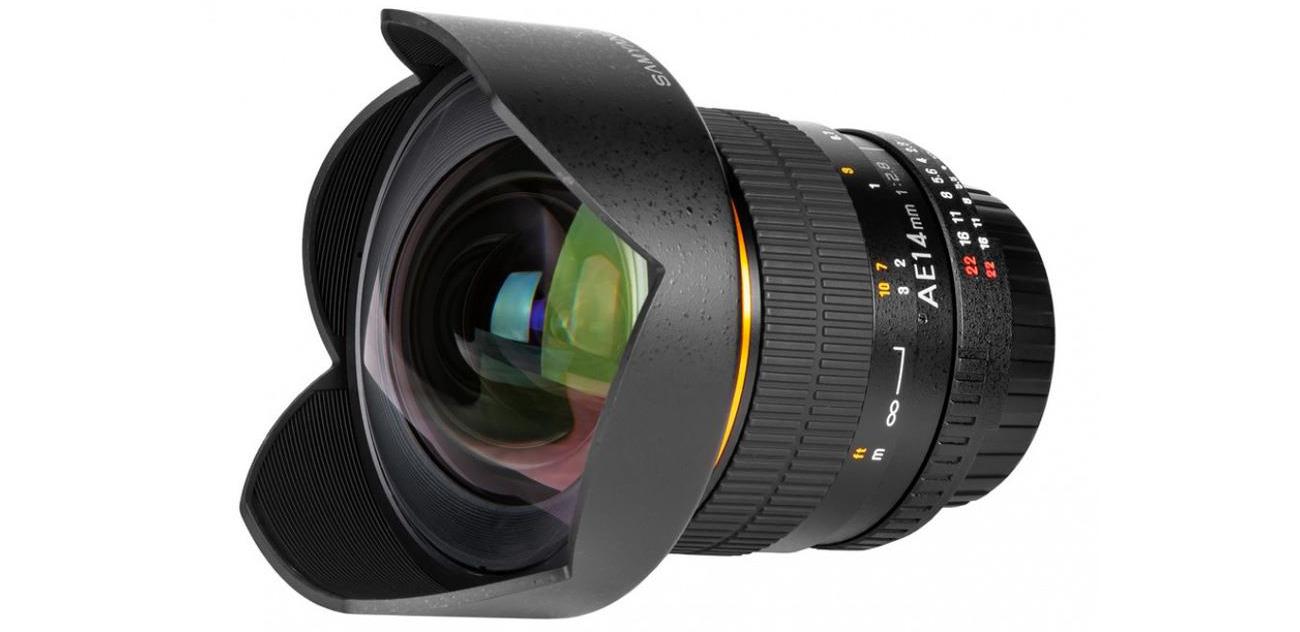 Obiektywy stałoogniskowy Samyang 14mm F2,8 ED AS IF UMC Nikon