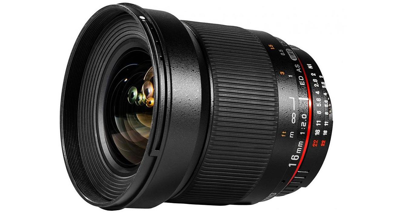 Obiektyw Samyang 16mm F2.0 ED AS UMC CS Nikon