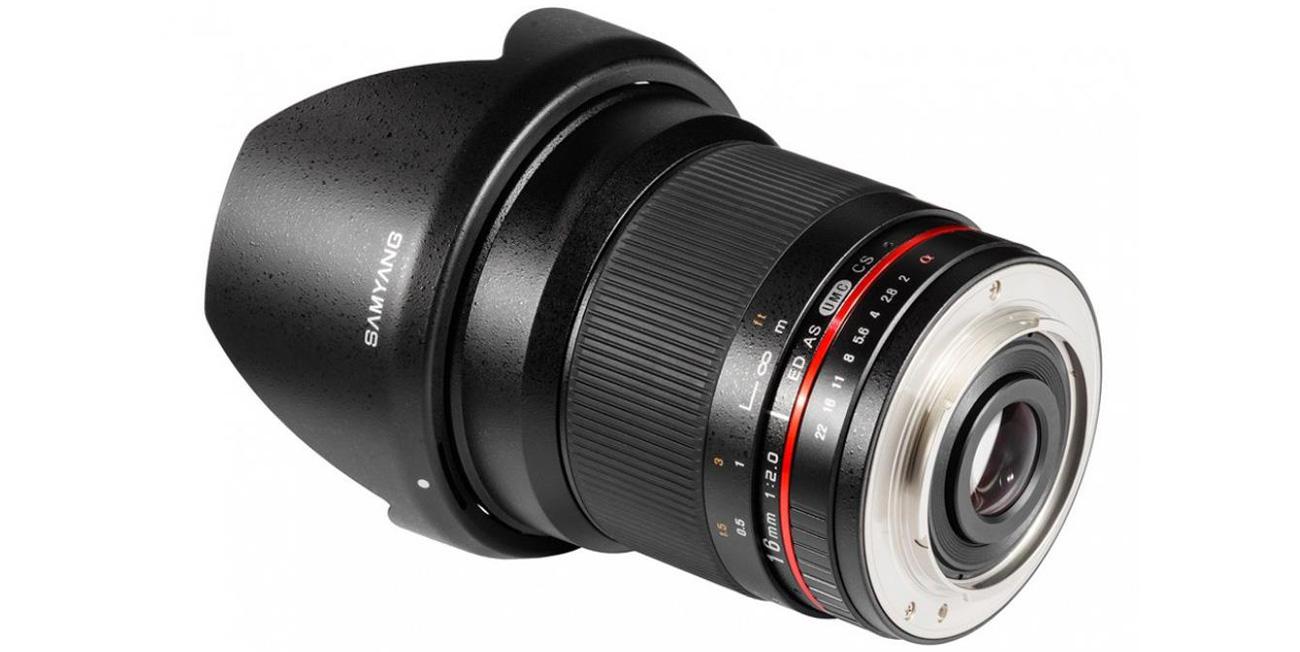 Obiektyw Samyang 16mm f/2.0 ED AS UMC CS mocowanie Nikon