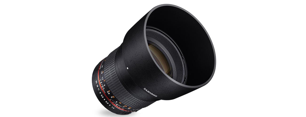 Obiektyw Samyang 85mm F1.4